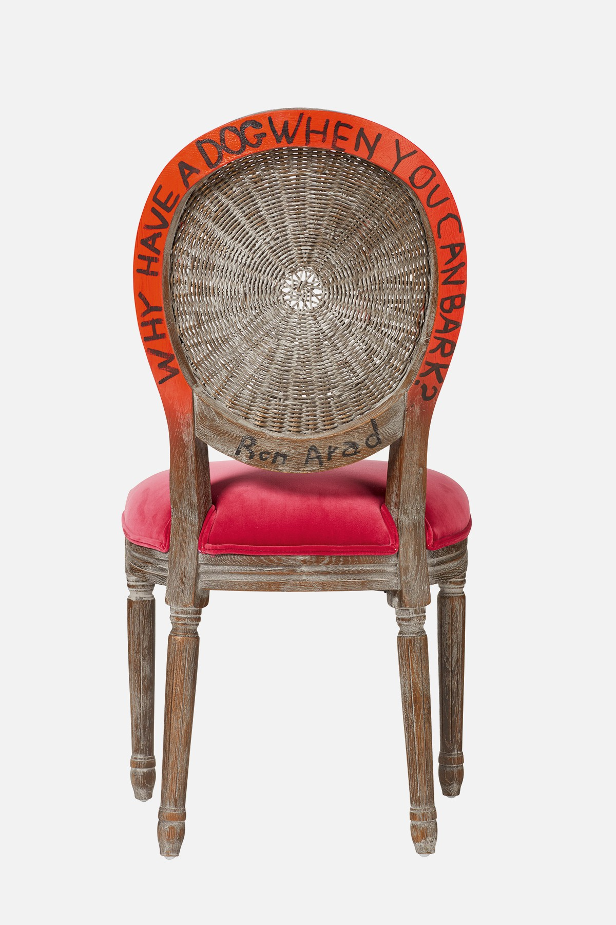 Superb Ron Arad Collaboration Oka Bralicious Painted Fabric Chair Ideas Braliciousco